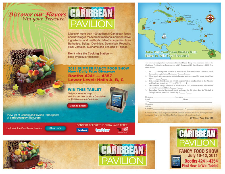 Caribbean pavilion creative mind consulting group portfolio
